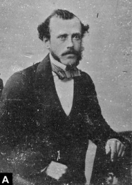 """William King, photo from Murray, J. et al. """"The Contribution of William King to the Early Development of Palaeoanthropology"""" (2015)"""