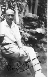 Roy Chapman Andrews. Image: http://history.archives.mbl.edu/archives/items/roy-chapman-andrews-0